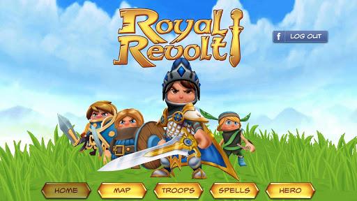 華麗又好玩的手機 Royal Revolt 王子復仇記