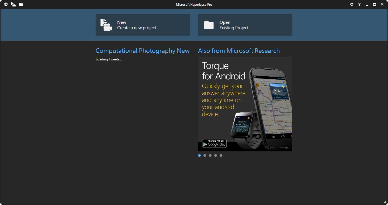 專業縮時攝影軟體電腦版下載&教學 Microsoft Hyperlapse Pro